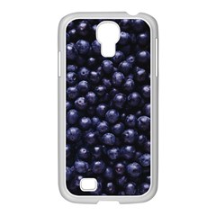 Blueberries 4 Samsung Galaxy S4 I9500/ I9505 Case (white) by trendistuff