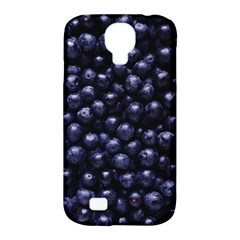 Blueberries 4 Samsung Galaxy S4 Classic Hardshell Case (pc+silicone) by trendistuff