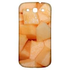 Cantaloupe Samsung Galaxy S3 S Iii Classic Hardshell Back Case by trendistuff