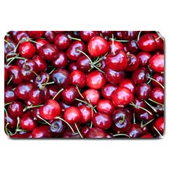 Cherries 1 Large Doormat  by trendistuff