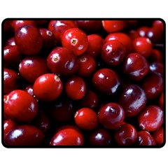 Cranberries 1 Fleece Blanket (medium)  by trendistuff