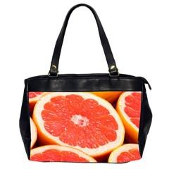 Grapefruit 1 Office Handbags (2 Sides)  by trendistuff