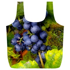 Grapes 1 Full Print Recycle Bags (l)  by trendistuff