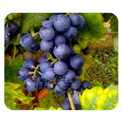 Grapes 1 Double Sided Flano Blanket (small)  by trendistuff