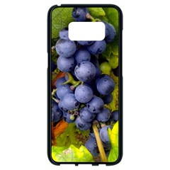 Grapes 1 Samsung Galaxy S8 Black Seamless Case