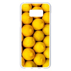 Lemons 2 Samsung Galaxy S8 Plus White Seamless Case by trendistuff