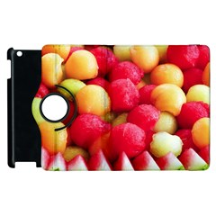 Melon Balls Apple Ipad 3/4 Flip 360 Case by trendistuff