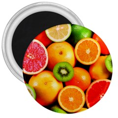 Mixed Fruit 1 3  Magnets by trendistuff