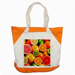 Mixed Fruit 1 Accent Tote Bag by trendistuff