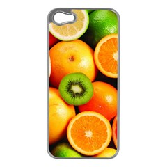 Mixed Fruit 1 Apple Iphone 5 Case (silver) by trendistuff
