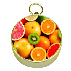 Mixed Fruit 1 Gold Compasses by trendistuff