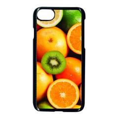 Mixed Fruit 1 Apple Iphone 8 Seamless Case (black) by trendistuff