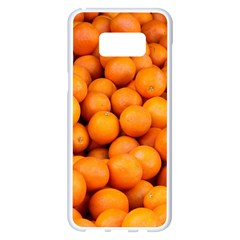 Oranges 3 Samsung Galaxy S8 Plus White Seamless Case by trendistuff