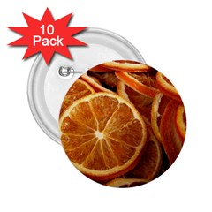 Oranges 5 2 25  Buttons (10 Pack)  by trendistuff