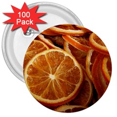 Oranges 5 3  Buttons (100 Pack)  by trendistuff