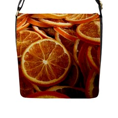 Oranges 5 Flap Messenger Bag (l)  by trendistuff