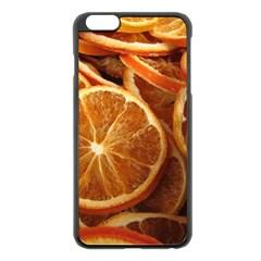 Oranges 5 Apple Iphone 6 Plus/6s Plus Black Enamel Case by trendistuff