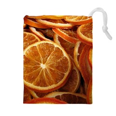 Oranges 5 Drawstring Pouches (extra Large) by trendistuff