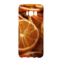 Oranges 5 Samsung Galaxy S8 Hardshell Case  by trendistuff
