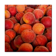 Peaches 2 Tile Coasters by trendistuff
