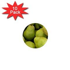 Pears 1 1  Mini Magnet (10 Pack)  by trendistuff