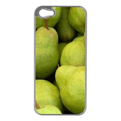 Pears 1 Apple Iphone 5 Case (silver)