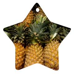 Pineapple 1 Ornament (star) by trendistuff