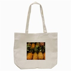Pineapple 1 Tote Bag (cream) by trendistuff