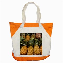 Pineapple 1 Accent Tote Bag by trendistuff