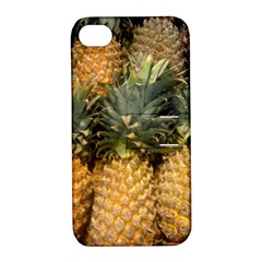 Pineapple 1 Apple Iphone 4/4s Hardshell Case With Stand by trendistuff
