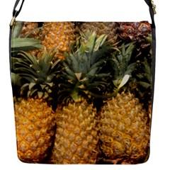 Pineapple 1 Flap Messenger Bag (s) by trendistuff