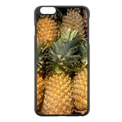 Pineapple 1 Apple Iphone 6 Plus/6s Plus Black Enamel Case by trendistuff