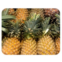 Pineapple 1 Double Sided Flano Blanket (medium)  by trendistuff