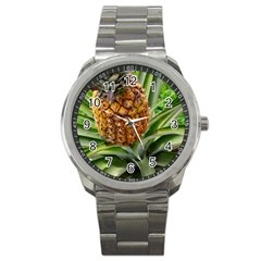 Pineapple 2 Sport Metal Watch by trendistuff