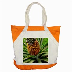 Pineapple 2 Accent Tote Bag by trendistuff
