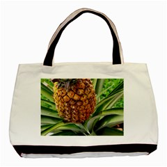 Pineapple 2 Basic Tote Bag (two Sides) by trendistuff