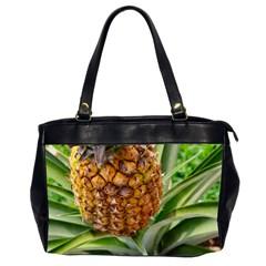 Pineapple 2 Office Handbags (2 Sides)  by trendistuff