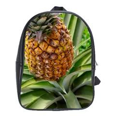 Pineapple 2 School Bag (xl) by trendistuff