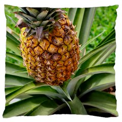 Pineapple 2 Large Flano Cushion Case (two Sides) by trendistuff