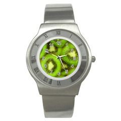 Kiwi 1 Stainless Steel Watch by trendistuff