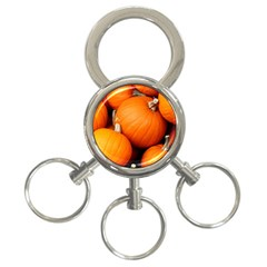 Pumpkins 1 3 Ring Key Chains by trendistuff