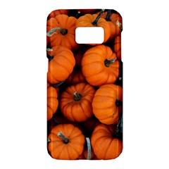 Pumpkins 2 Samsung Galaxy S7 Hardshell Case  by trendistuff