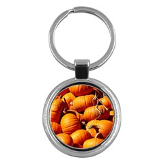 Pumpkins 3 Key Chains (round)  by trendistuff
