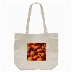 Pumpkins 3 Tote Bag (cream) by trendistuff