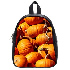 Pumpkins 3 School Bag (small) by trendistuff