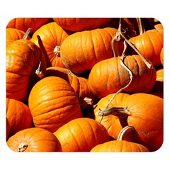 Pumpkins 3 Double Sided Flano Blanket (small)  by trendistuff