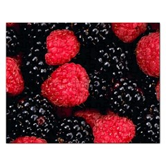 Raspberries 1 Rectangular Jigsaw Puzzl by trendistuff