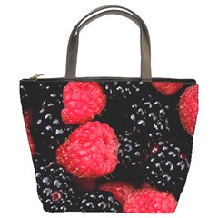 Raspberries 1 Bucket Bags by trendistuff