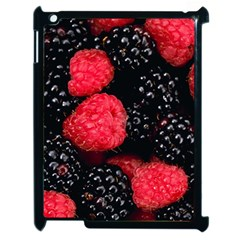 Raspberries 1 Apple Ipad 2 Case (black) by trendistuff