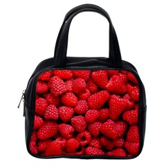 Raspberries 2 Classic Handbags (one Side) by trendistuff